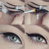 Трафарет для макияжа удобная подводка глаз