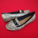 Туфли лоферы Clarks 38 размер