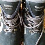 ботинки кожаные Hi-Tec waterproof 39 р