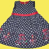 Нарядное платье на 3-4 года,рост 104 см,Mothercare