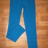 Шикарные Ярко-Синие лосины со строчкой