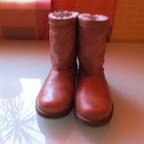 Стильные женские ботинки Shoot кожа