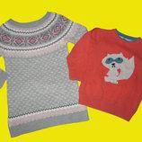 Пакет теплых вещей на девочку 3-4 года,рост 98-104 см,Next