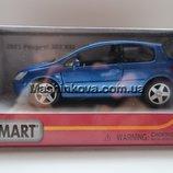 Машинка кинсмарт Peugeot 307 XCI 2001