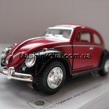 Машинка Volkswagen Classical Beetle 1967 Жук Кинсмарт
