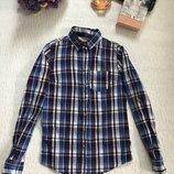 Рубашка в клетку 6- размера , XS- S