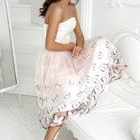Воздушная вечерняя юбка