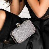 Декорированная сумка-клатч