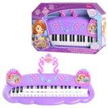 Детский синтезатор-пианино 205017 Принцесса София