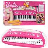 Детский синтезатор-пианино 784178 Барби