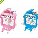Синтезатор-Пианино BB375 со стульчиком и микроном