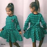 Костюм трикотажный Микки кофта юбка для девочки