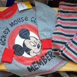 Коттоновая брендовая пижама с Микки Jumping Beans для мальчика или девочки