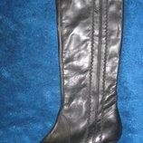 Новые демисезонные кожаные сапоги Duo р. 39, ст. 25, 5 см