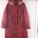 зимний пуховик, 48 размер