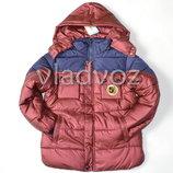 Детская зимняя куртка утепленная евро зима куртка для мальчика 8-12 лет 3640