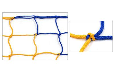 Сетка-Гаситель для футзала и гандбола стандарт 5282 размер 3х2,1м, ячейка 12х12см