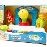 Орган Караоке Play smart 7507 звук свет музыкальные игрушки