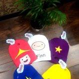 Детские шапочки adventure time время приключений