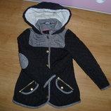 Фирменная стеганная курточка для девочки