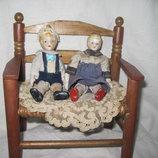 Старинные фарфоровые куколки