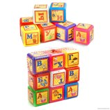 Развивающие кубики,набор,9 шт.,Азбука рус.язык ,алфавит,азбука