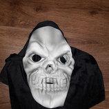 Карнавальная маска череп на хелоуин hellowin