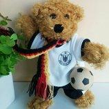 Мишка медведь коллекционный Германия 23 см