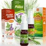 Царство ароматов Композиции эфирных масел при гриппе простуде орви для детей Poliol plus Aromadocto