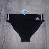 М-L/46-48 Adidas,Оригинал черные плавки новые