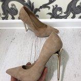 Туфли Материал иск. Замша Высота каблука 12 см