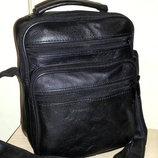 Мужская сумка из натуральной кожи S0516-2 23x18x9см