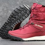 Зимние ботинки Adidas Terrex 2 burgundy