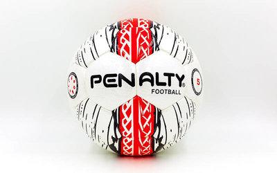 Мяч футбольный 5 Penalty 13-CS PVC, сшит вручную