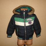 George Теплая куртка на 1,5-2 года рост 86-92 см