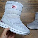 Зимние женские ботинки Nike gray