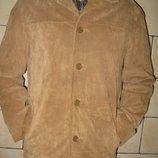 Куртка замша деми 50 размер Morgan