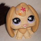 коллекционная винтажная фигурка Кролик LPS Littlest Pet Shop Hasbro Сша оригинал