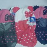 Теплые шлемы на девочек 46/48 размер,на 1-2 года,Grans,Польша