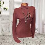 Женский свитер-водолазка в рубчик р.ХS/S Takko Fashion Германия