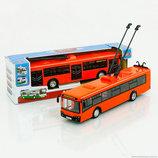 Троллейбус автобус 9690 Инерционный. Звук. Автопром