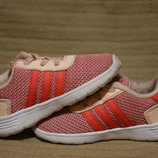 Яркие легкие современные кроссовки для девочки Adidas 23 р.