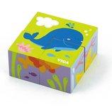 Пазл-Кубики Viga Toys Подводный мир 50161