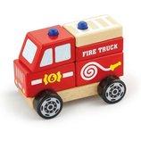 Игрушка Viga Toys Пожарная машина 50203