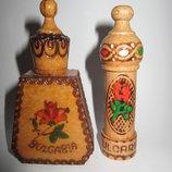 Флаконы для духов Болгарская роза дерево Болгария
