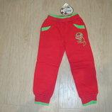 Утепленные спортивные штаны для девочек