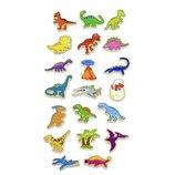 Набор магнитных фигурок Viga Toys Динозавры 20 шт. 50289VG