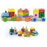Конструктор Viga Toys Поезд 50534