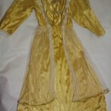 Карнавальное новогоднее платье принцессы на 5-6лет