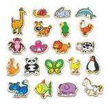 Набор магнитных фигурок Viga Toys В мире животных 20 шт. 58923VG